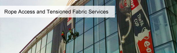 Rope Access and Tensioned Fabric Services